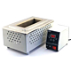 Ц20-В 400х250х250. Паяльная ванна с цифровым регулятором температуры Магистр Ц20-В прямоугольная